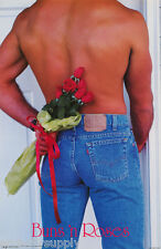 POSTER : ART : BUNS'N ROSES -SEXY MALE MODEL - FREE SHIPPING ! #PC0963    LW14 P