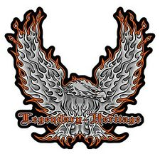 FLAMING EAGLE HERITAGE LEGENDARY PATCH P5320 biker
