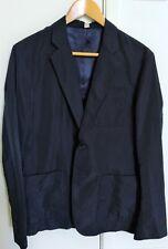 Genuine Burrerry Men All Season Black Jacket Size 48 Casual