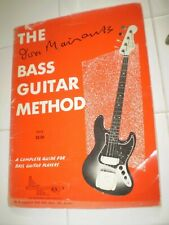 The Bass Guitar Method Ivor Mairants 1963 Fender Jazz Bass Learn to Play