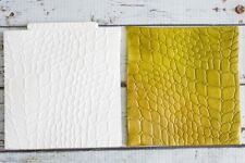 Silicone Mould crocodile skin dragon skin snake skin Texture Embossing Mat M251