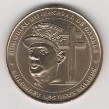 -- 2000 MEDAILLE JETON MONNAIE DE PARIS -- 52 330 MEMORIAL DU GENERAL DE GAULLE