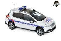 PEUGEOT 2008 2013 - Voiture police municipale France - 1/43 NOREV 479821