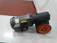 Baldor Reliance CM3538 Motor 1/2 HP 230/460V 2/1A 1725 RPM w/Morse Reducer