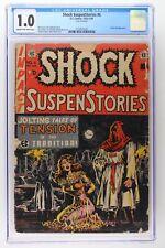 Shock SuspenStories #6 - E.C. 1953 CGC 1.0 Classic bondage cover.