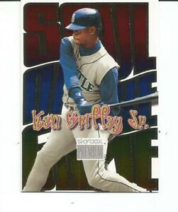 1999 SKYBOX PREMIUM BASEBALL KEN GRIFFEY, JR. SOUL OF THE GAME INSERT CARD #9