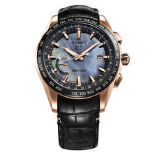 New Seiko Astron Solar GPS Novak Djokovic LTD Titanium Men's Watch SSE105