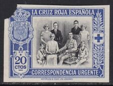 Spain ScEB1 Red Cross, Royal Family, Imperf Proof