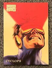 1996 Marvel Masterpieces #10 CYCLOPS X-Men Base Comic Card Julie Bell Art NM