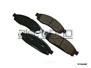 Disc Brake Pad Set-Akebono ProACT Front WD Express 520 10150 091