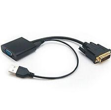 Adaptador DVI-D a VGA