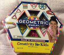 New Geometric Jewelry Making Kit Make 12 Accessories