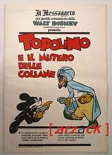 TOPOLINO supplemento a IL MESSAGGERO Topolino e il mistero delle collane 6/1/90