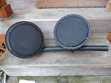 SIMMONS SD7K Electronic Drum Tom / Snare Pads. w/ Clamps..V.G. Cond.
