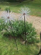 Large Metal Allium Garden Stake / Everlasting Alliums Ornament by Ascalon