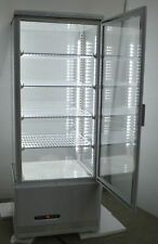 Commercial 110V Floor Type Fresh Keeping Refrigerated Cake Pie Display Cabinet