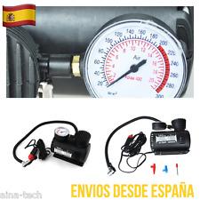 Compresor De Aire Coche 21 Bares 250 Psi 12V Inflador Accesorios Con Manómetro