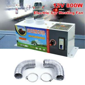 DC 12V 800W Electric Car Heater Heating Fan Defogger Defroster Demister Portable