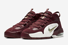 Nike Air Max Penny House Party Team Red Maroon White 685153-601 New Men's Shoes
