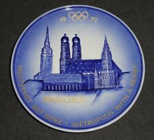 1972 Munchen Olympic Plate - Goebel W Germany - Frauenkirche & St.Peter Munich