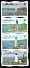 Canada 1984 Canadian Lighthouses 1st Series Sg 1128 - 1131 unmounted mint
