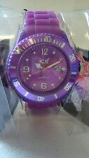 Original Ice Watch  Sili Purple Big  New in Box with Tags