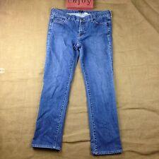 J Crew Denim Jeans City Fit Womens Size 10 Dark Wash Boot Cut Belt Loops