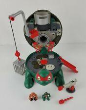 Teenage Mutant Ninja Turtles Micro Mutants Raphs Rooftop Pet Turtle Playset