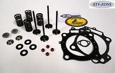 KibbleWhite Black Diamond Valves, Spring Kit Seals Gaskets Honda TRX 400EX 06-13