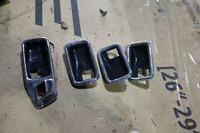 ORIGINAL Mercedes Benz Saloon W123 230 Türöffner Rahmen Griff Mulde Satz DE ✓