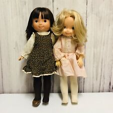 2 Vintage 1970's My Friend Mandy Dolls 20141 & 23088 With Outfits Fisher Price