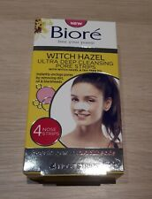 Biore Witch Hazel Ultra Deep Cleansing Pore Nose Strips For Spot Prone Skin💞