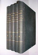 JULES GAILHABAUD - L'ARCHITECTURE DU Vme AU XVIIme SIECLE - 1858 [4 VOL.]