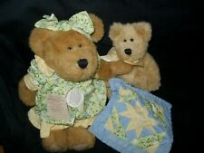 Boyds Bears Grammy Quiltsbeary With Patches Exclusive Limited Edition Plush