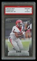 D'ANDRE SWIFT 2020/'20 LEAF DRAFT 1ST GRADED 10 ROOKIE CARD RC GEORGIA BULLDOGS