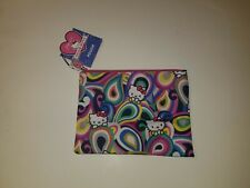 Paperchase UK Hello Kitty large zipper pouch accessories case NWT