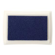 Almohadilla Tinta para Sello Tampon Color Azul para Ninos No Toxico A5P3