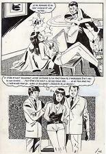 LA LOUVE WEEKEND A PEKIN  (RENAUD) PLANCHE ORIGINALE AREDIT PAGE 143