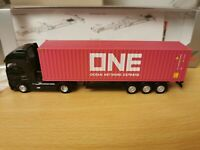 (W1) Herpa 932257 LKW H0 1:87 Volvo GL XL Container Sattelzug ONE - OVP