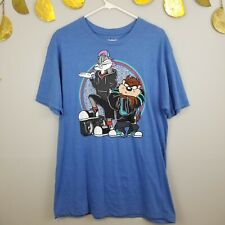 90s Looney Tunes Bugs Bunny Taz Bboy Stance Boombox Mens T Shirt Sz Large