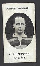 TADDY - PROMINENT FOOTBALLERS (NO FOOTNOTE) - S PILKINGTON, RICHMOND
