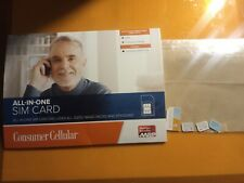 Variety of cell phone sim cards