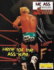 Mr. Bad Ass Billy Gunn Signed 8.5x11 WOW Magazine Page Photo WWE D-Generation X