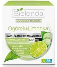 Bielenda CUCUMBER & LIME Mattifying Cream Combination Oily Skin Day/Night 50ml