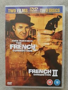 French Connection / French Connection 2 (DVD REGION 2, 2002, 2-Disc Set)