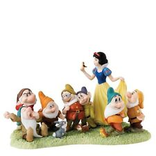 Walt Disney Enchanting Collection Schneewittchen Die 7 Zwerge Snow White Figur