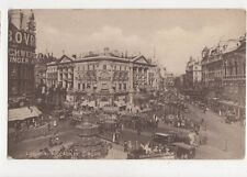 London Piccadilly Circus Vintage Postcard 764a