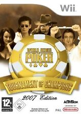 WORLD SERIES OF POKER  :  TOURNAMENT OF CHAMPIONS          -----   pour WII