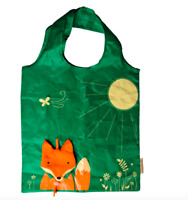 Sass & Belle Fox Reusable Foldable Shopping Bag Fold Away Animal Handbag