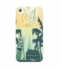 Coque iphone 5 5S SE Summer chill surf tropical summer van